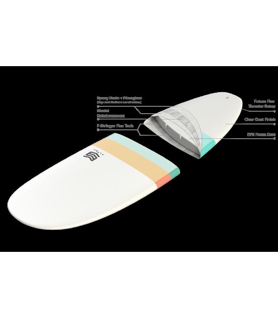 Tabla Surf dura 8'0 Malibu