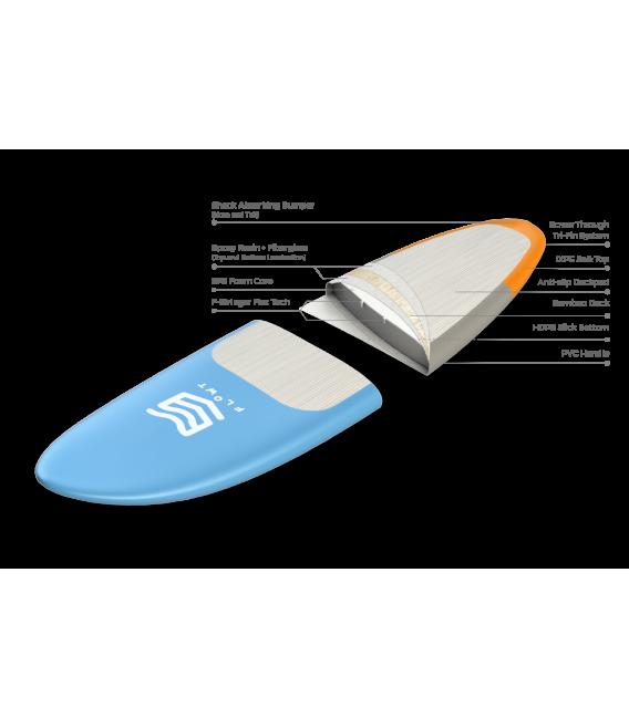 Tabla Surf blanda Tanker Deckpad 9'0