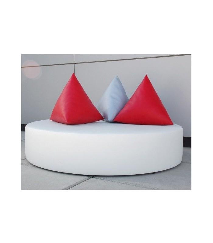 Cama balinesa circular modelo round for Camas balinesas para jardin
