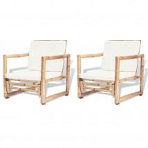 Sillas Bambú (Pack de 2 Uds)