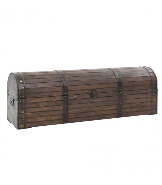 Baúl de almacenaje madera maciza estilo vintage