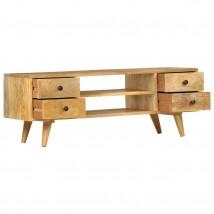 Mueble para TV de madera maciza de mango, estilo retro