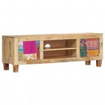 Mueble para TV de madera maciza de mango Boheme