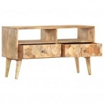 Mueble para la TV de madera maciza de mango bcn