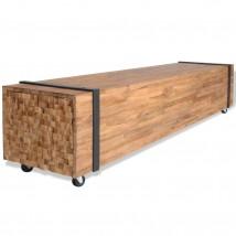 Mueble para la TV de madera de teca alta calidad