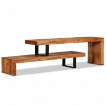 Mueble para TV de madera maciza de acacia Dual