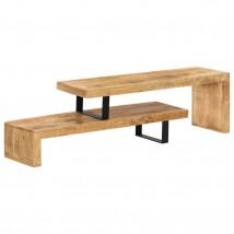 Mueble para TV de madera maciza de mango Dual