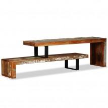 Mueble para TV de madera maciza reciclada Dual
