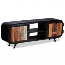 Mueble para TV de madera reciclada Black