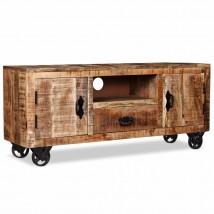Mueble para TV de madera mango rugoso