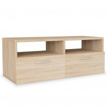 Mueble para TV de aglomerado color roble