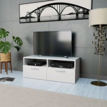 Mueble para TV de aglomerado color blanco