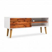 Mueble para TV de madera maciza de acacia nórdico