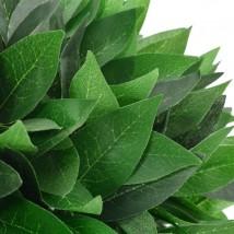 Planta artificial árbol de laurel con macetero verde 70 cms