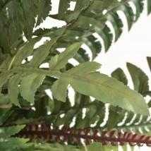 Helecho artificial con macetero 50 cms verde