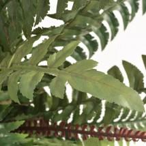 Helecho artificial con macetero 60 cms verde