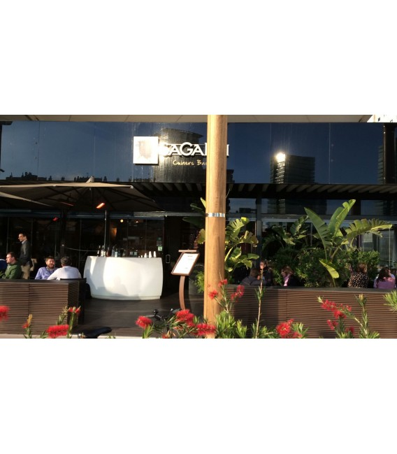 barra de bar Fiesta Curva vondom