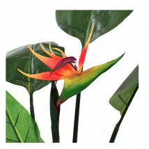 Planta strelitzia reginae ave del paraíso artificial 155 cms
