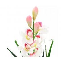 Planta artificial orquídea con macetero 100 cms verde