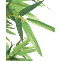 Árbol de bambú artificial con maceta 120 cms verde