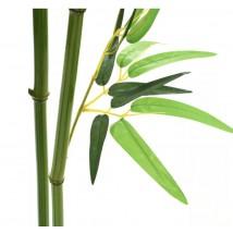 Árbol de bambú artificial con maceta 150 cms verde