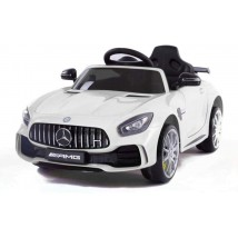 Coche eléctrico Mercedes AMG GTR White