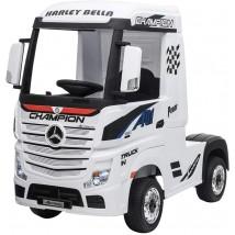 Camión eléctrico Mercedes Actros blanco