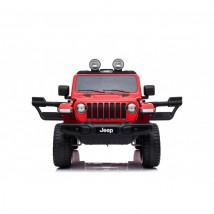 Jeep Wrangler eléctrico para niños rojo