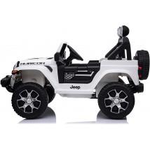 Jeep Wrangler eléctrico para niños blanco