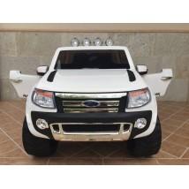 Ford Ranger F150 eléctrico para niños blanco
