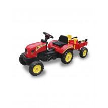 Tractor a pedales Go-Kart para niños rojo