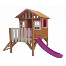 Casita infantil elevada, modelo Lollipop, disponible en 3 colores