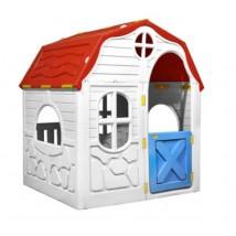 Casita de juegos plegable para niños con puertas y ventanas,Modelo Nimis