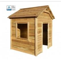 Casa de juegos de jardín de madera de pino,Modelo Canis