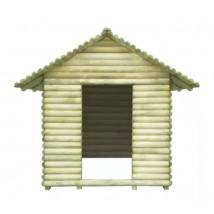 Casa de juegos de madera de pino impregnada,Modelo Tacis