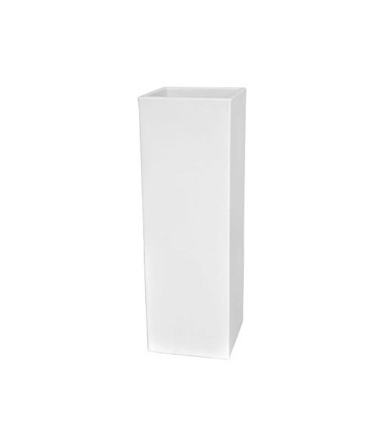 Macetero rectangular con luz