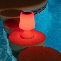 Eled Lámpara de Mesa con Altavoz Bluetooth