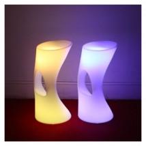 Taburete con luz RGBW, modelo Bled