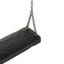 Asiento Caucho con cadenas Curve XL