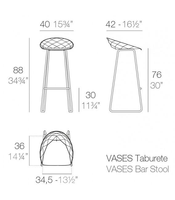 Vases Taburete