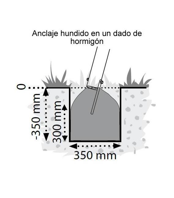 Kila individual Columpio Madera