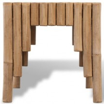 Mesa de centro de palos de Bambú, modelo Bamboline