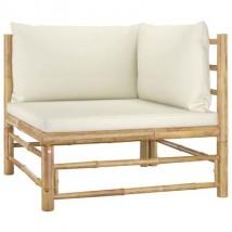 Sofá de dos piezas de bambú, modelo Bamboo 2 Plazas