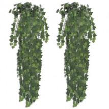Planta artificial hiedra 2 unidades 90 cm