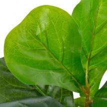 Planta artificial ficus con macetero 45 cm verde