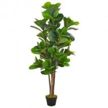 Planta artificial ficus con macetero 152 cm verde