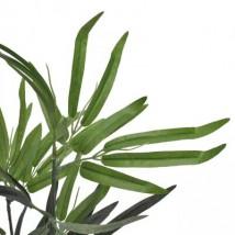 Árbol de bambú artificial con macetero 80 cm