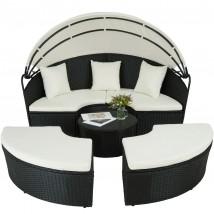 Sofá Lounge modelo Etna, color negro