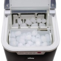Máquina de hielo 12 Kgs negra
