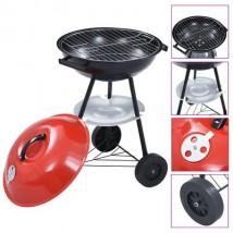 Barbacoa portátil de carbón con ruedas XXL, modelo Porter